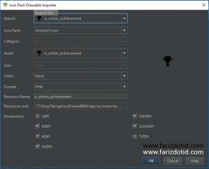 Install dan Cara Penggunaan Plugin Android Drawable Importer
