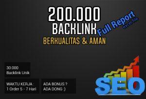 Jasa 200.000 Backlink Berkualitas