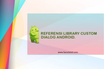 Referensi Library Custom Dialog Android