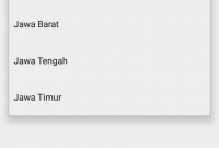 Library AutoCompleteTextview Daerah Indonesia Android Studio