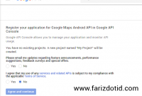Cara Mendapatkan API Key Google untuk Android