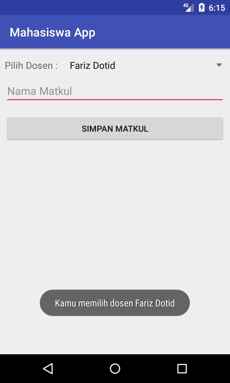 Cara Set Data Spinner dari Json API Server ( Retrofit ) Android