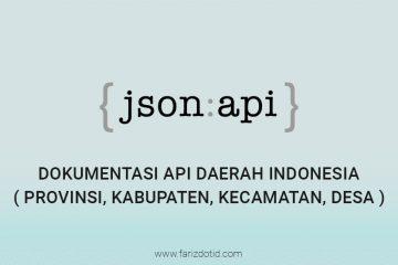 Dokumentasi API Daerah Indonesia
