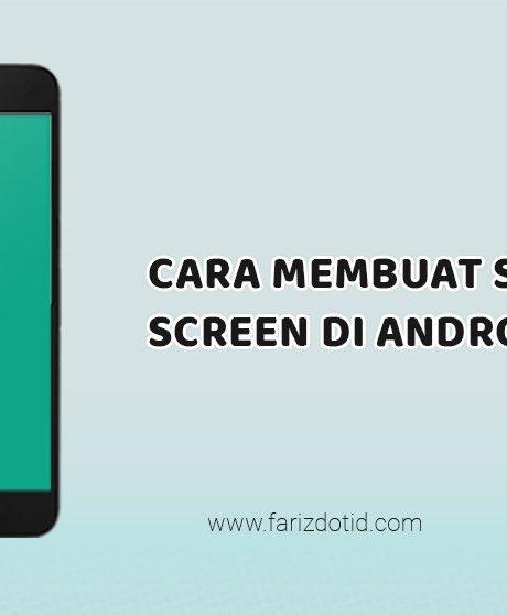 Cara Membuat SplashScreen di Android Studio - farizdotid ...