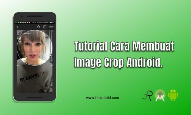 Tutorial Cara Membuat Image Crop Android
