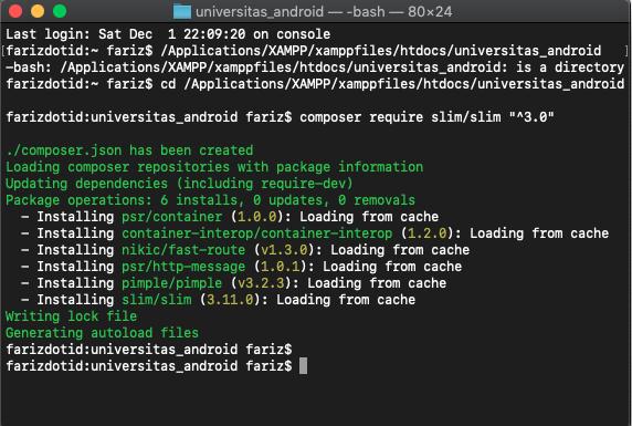 Cara Membuat API Login Register Dengan SLIM Framework - 1