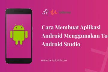 Belajar membuat aplikasi android